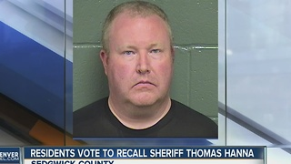 Sedgwick County Sheriff recalled