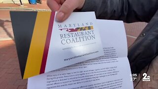 Restaurant coalition pushing to ease dining restrictions in Anne Arundel County