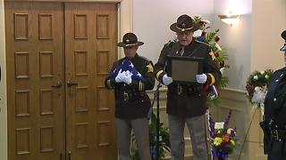 Boone County Sheriff reads police offier's prayer - Video