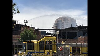 Businesses look to recover after massive office complex fire