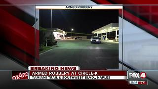 Armed robbery at Naples Circle K - Video