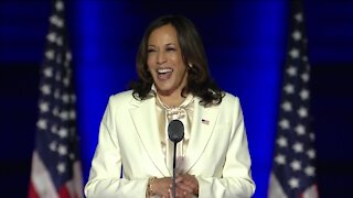 Vice President-elect Kamala Harris addresses the nation in Wilmington