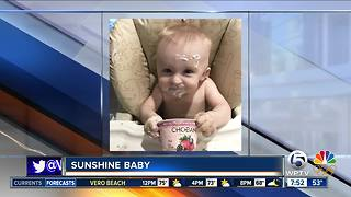 Sunshine Baby 12/16/17 - Video
