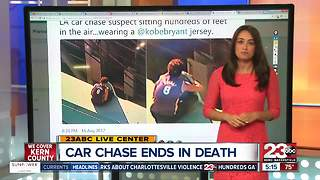 LA Police Chase Ends in Death - Video