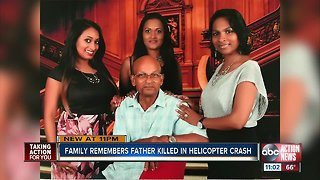 Family remembers 72-year-old truck passenger killed by helicopter blade in Palm River