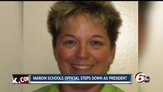 Marion School Board president steps down after backlash over Facebook post supporting Roseanne Barr - Video