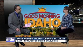 Boise Farmers Market Opening Saturday