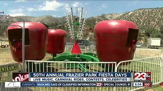 50th Annual Frazier Park Fiesta days this weekend! - Video