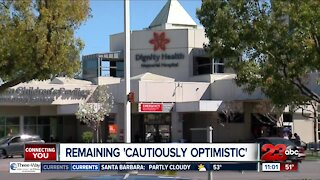 Hospitals remaining 'cautiously optimistic,' Dignity Health seeing lull in COVID cases