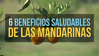 6 Beneficios Saludables De Las Mandarinas - Video