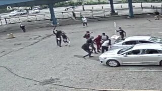 Assault rifle stolen from bailiff's car during May 30 riot in Cleveland; sheriff's office investigating