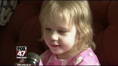 Heroic 3-year-old credited with saving mother's life in Michigan