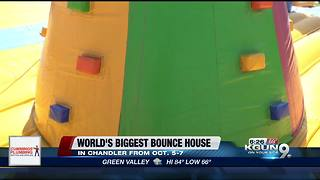 World's biggest bounce house is coming to Arizona
