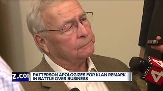 L. Brooks Patterson apologizes after saying 'I'd rather join the Klan' than group of CEOs - Video