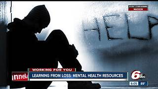 Local resources for people who are struggling with mental health issues