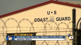 South Bay family preparing for deployment during shutdown