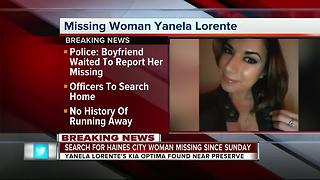 Haines City PD searching for missing woman after her car was located - Video