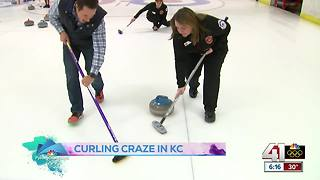 Get a taste of an Olympic sport with KC Curling Club - Video