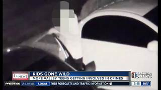 More valley teens getting involved in crimes - Video