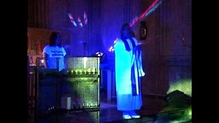 Church Techno Rave Service - Video