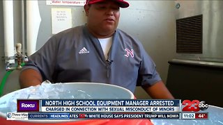 North High School Equipment Manager Arrested