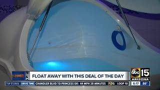 True REST Float Spa Glendale offering more than half off! - Video