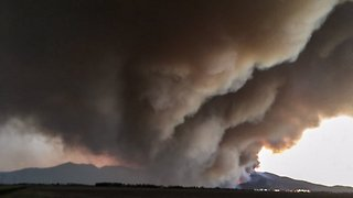 Wildfire Forces Evacuations in Central Italy
