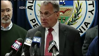 News briefing about Pittsburgh synagogue shooting