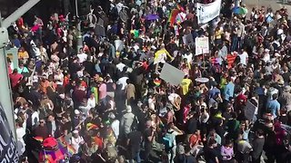 Thousands March in Sydney for Marriage Equality - Video