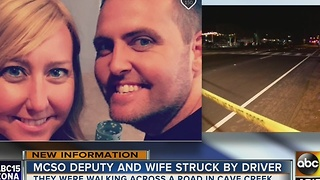 MCSO identifies deputy sergeant, wife struck in Cave Creek crash - Video