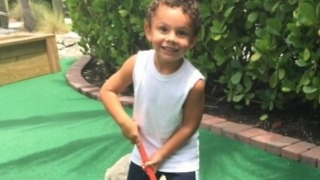 Dominic Caprio reunited with his mother in Jupiter - Video