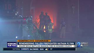 Remembering Fallen Firefighter Nathan Flynn