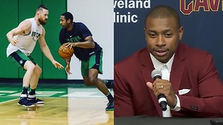 Isaiah Thomas TROLLS Celtics, Reveals How to Stop Al Horford - Video