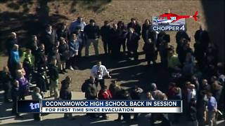 Classes resume at Oconomowoc High School after carbon monoxide scare - Video
