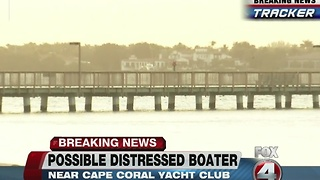 Search for distressed boater in Caloosahatchee under way - Video