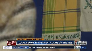 Reports, calls to rape crisis centers increase amid high-profile sexual assault allegations - Video