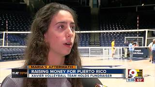 Xavier students raising money for Puerto Rico - Video