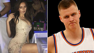 Kristaps Porzingis Caught CREEPING on Instagram Model, Gets Shot Down - Video