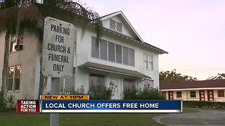 A Lakeland Church is giving away a historic home for free — but there's a catch