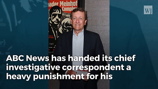 ABC Reporter Brian Ross Getting A Big Demotion Over Botched Trump Report - Video