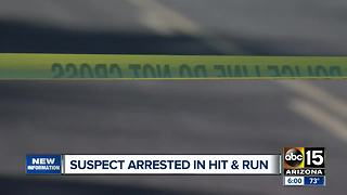 Suspect arrested in Gilbert hit-and-run