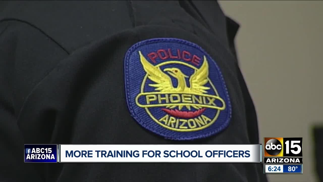School resource officers get more training on mental health