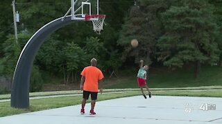 Kansas City father, son discuss life lesson, 4-year-old's shooting over basketball