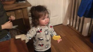 Little girl has total meltdown while singing 'Old MacDonald'