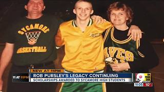 Sycamore High School students awarded scholarships in honor of Rob Pursley