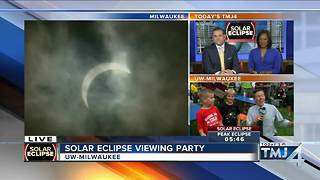 Today's TMJ4 Eclipse Special - Video