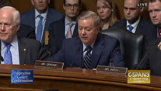 Lindsey Graham Goes Off On Committee, 'The Most Unethical Sham Since I've Been in Politics'