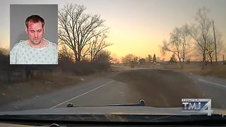 Dodge County man leads chase in dump truck, charged with OWI - Video