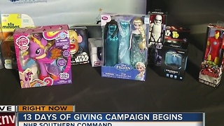 13 Days of Giving kicks off in Las Vegas