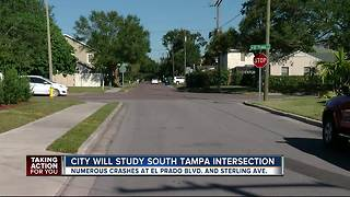 Tampa adds South Tampa intersection to study list for speeders, traffic - Video
